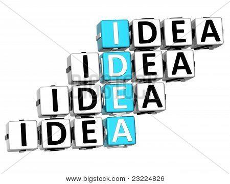 3D Idea Crossword