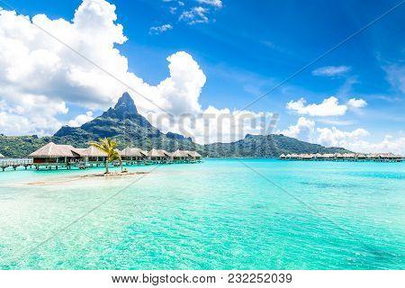 Bora Bora In French Polynesia, Tahiti. Paradise Beachs.