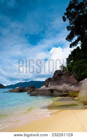 Vacation Wallpaper Lagoon Landscape