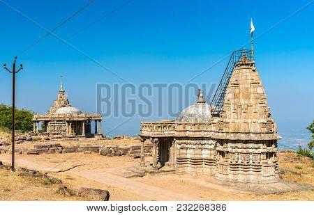 Digambar Jain Mandir, A Temple On Pavagadh Hill - Gujarat State Of India