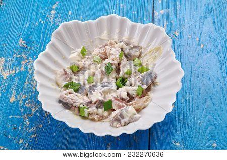Polish Herring In Sour Cream