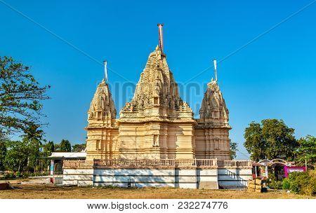 Parmar Kshatriya Jain Temple of Pavagadh - Gujarat State of India poster
