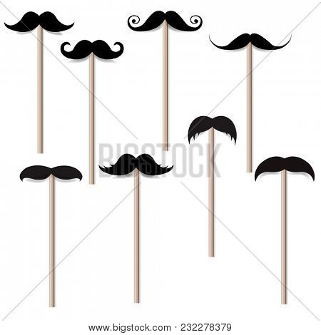 Mustache Big Collection