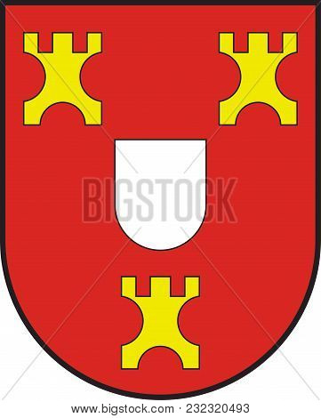Coat Of Arms Of Kalkar Is A Municipality In The District Of Kleve, In North Rhine-westphalia, German