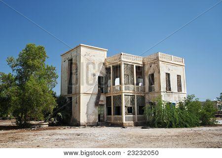 Colonial House In Massawa Eritrea