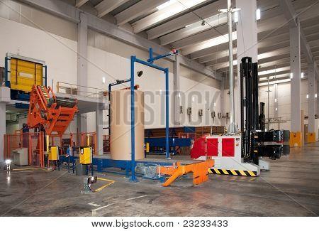 Robotic forklift