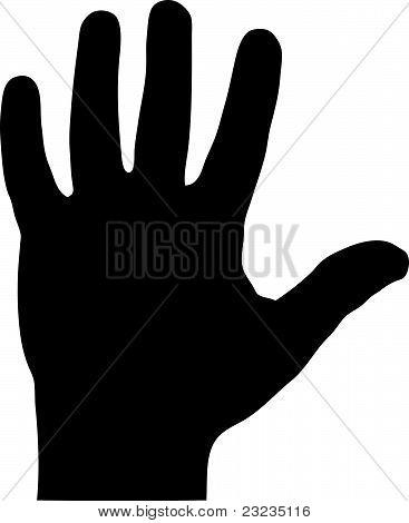 Hand Silouette
