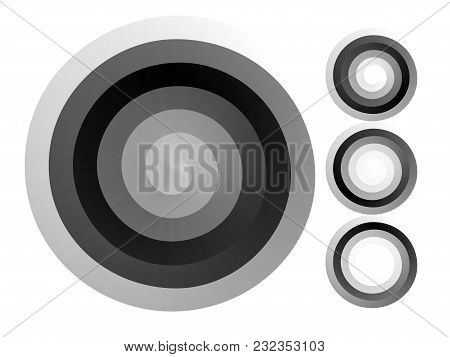 Abstract Spiral Background. Black And White Halftone Vector. Eps8. Rgb. Global Color