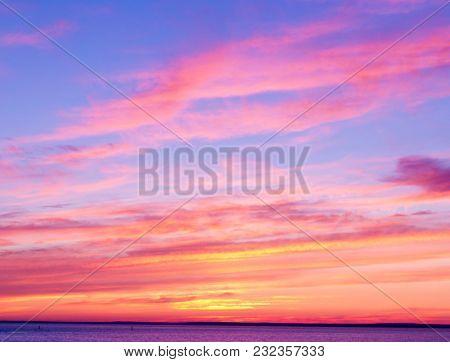 Bright Horizon Burning Skies