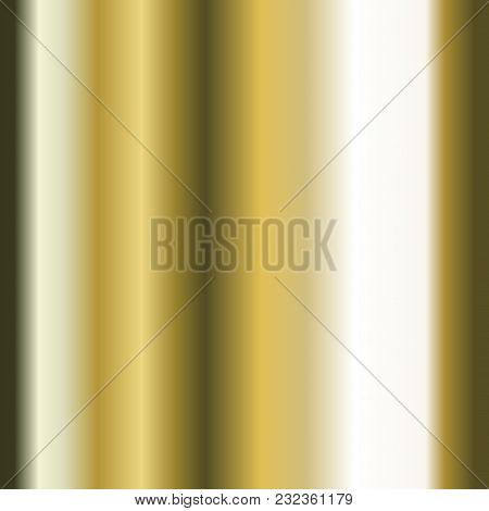 Realistic Gold Texture. Gold Foil Texture Background. Vector