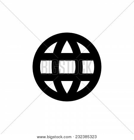 Web Icon Isolated On White Background. Web Icon Modern Symbol For Graphic And Web Design. Web Icon S