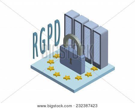 Rgpd, Spanish And Italian Version Version Of Gdpr: Regolamento Generale Sulla Protezione Dei Dati. C