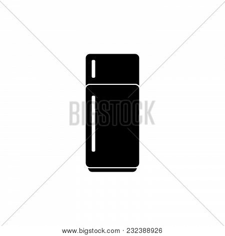 Refrigerator Icon Isolated On White Background. Refrigerator Icon Modern Symbol For Graphic And Web
