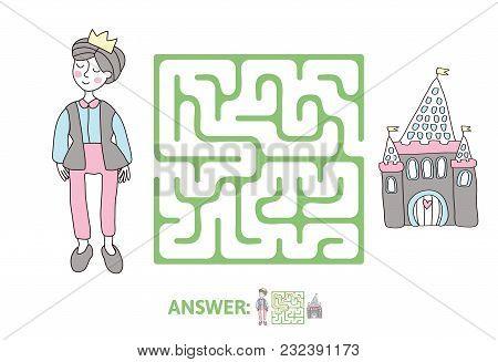 Childrens Maze Vector Photo Free Trial Bigstock