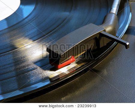 Record player stylus