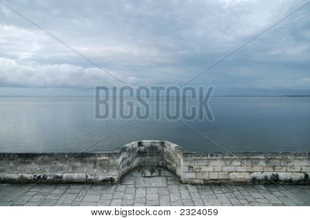 Cloudscape From Fortified Wall