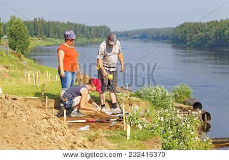 Editorial.nyaksimvol Village Beryozovsky District Of The Khanty-mansiysk Autonomous Okrug, Russia-ju