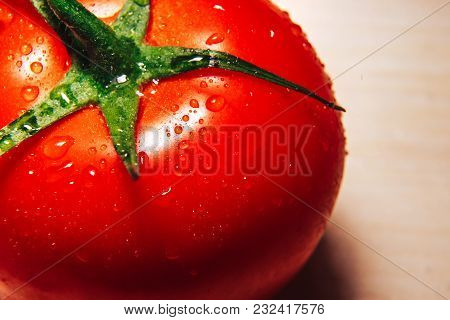 Red Tomatoes Background. Group Of Tomatoes. Wallpaper Tomato Macro