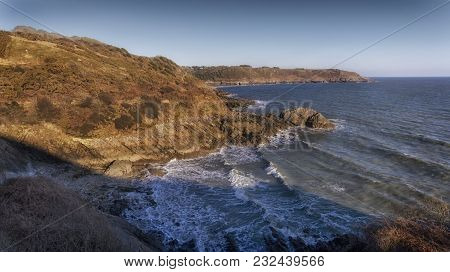 Brandy Cove On The South Side Of The Gower Peninsula In Swansea Which Was Used As A Smugglers Cove I