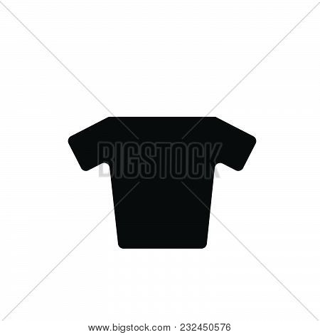 Shirt Vector Icon On White Background. Shirt Modern Icon For Graphic And Web Design. Shirt Icon Sign