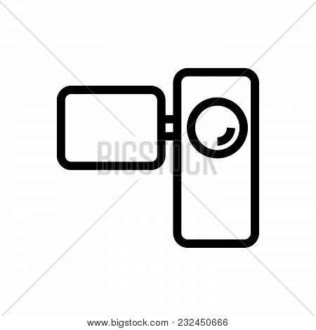 Video Camera With Screen, Video Camera Icon Vector, Video Camera Icon Jpg, Video Camera Icon Eps10