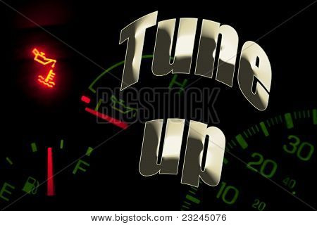 Change Oil Service Engine Light Tune Up
