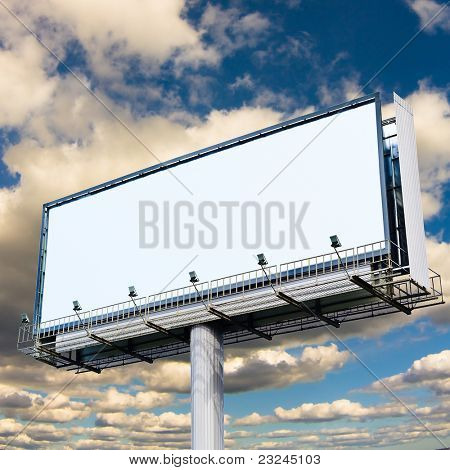 Billboard Copyspace In the Sky