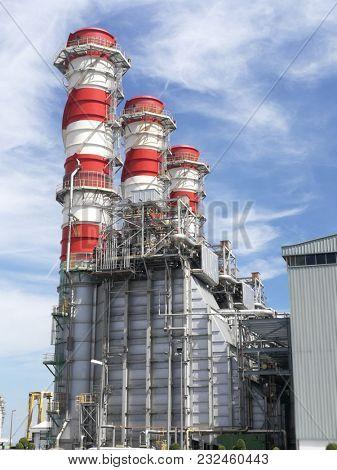 heavy industry plant