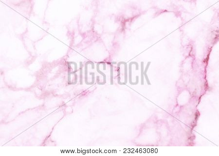 Pink Marble Texture With Lots Of Bold Contrasting Veining (natural Pattern For Backdrop Or Backgroun