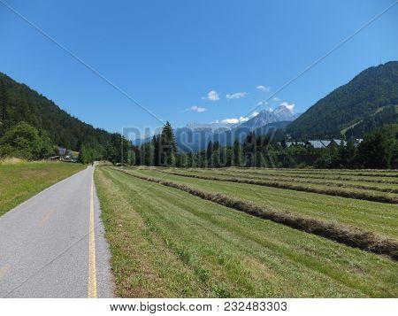 Cycling Prom Kranjska Gora In Slovenia To Trbiž In Italy