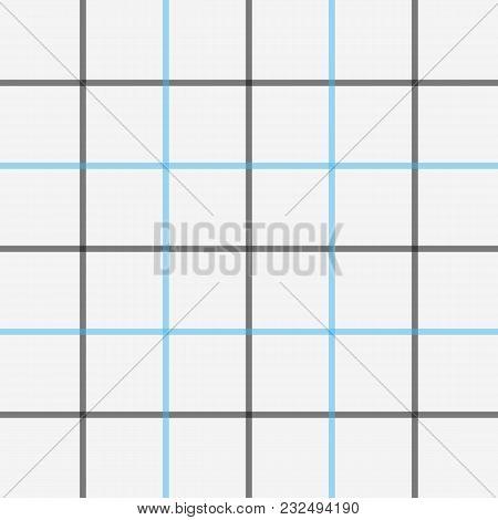Scottish Cage, Tattersall. English Beige Checkered Background. Background In Scottish Cage. Scottish