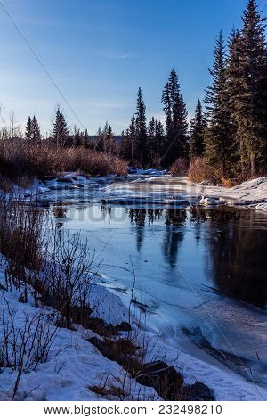 Late Spring On The Tay, Tay River Provincial Recreation Area, Alberta, Canada