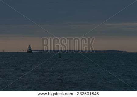 Buzzards Bay After Sunset