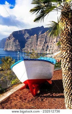 Tenerife holidays - beautiful Los Gigantes . Canary islands
