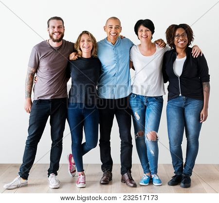 Group of diverse people