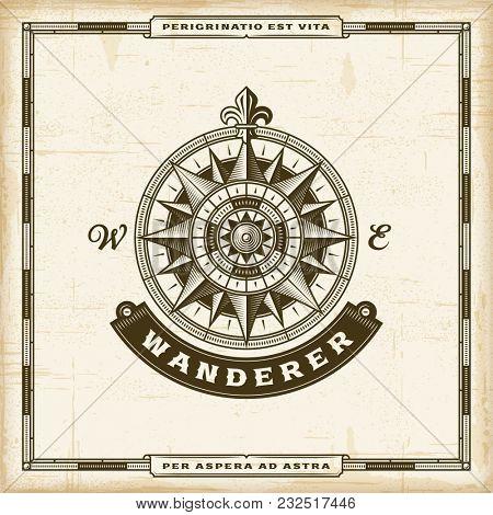 Vintage Wanderer Label