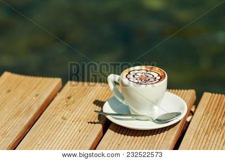 A Cup Of Coffee , Cappuccino Art , Latte Art , Latte  Cappuccino
