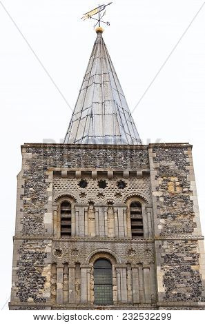 12th Century Romanian Style Church Of St Mary The Virgin,  Tower, Dover, United Kingdom