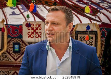 Rishon Lezion, Israel. March 21, 2018. Israeli Knesset (parliament) Member Konstantin Razvozov Of Th