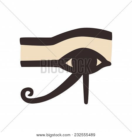 Wedjat Eye Horus  Vector & Photo (Free Trial) | Bigstock