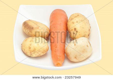 Carrots And Potato