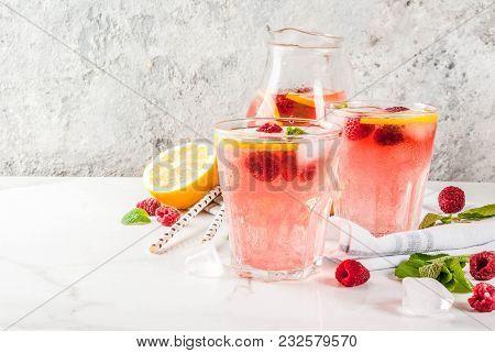 Raspberry Mojito Or Lemonade