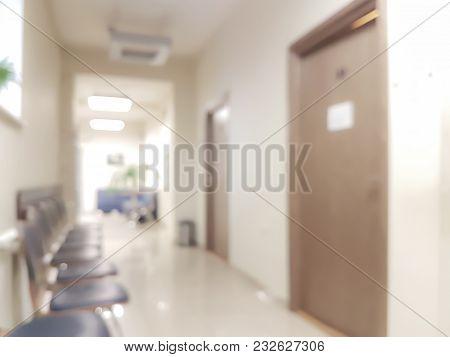 Blurred Waiting Room