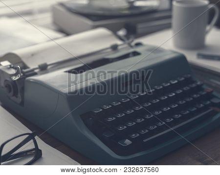 Vintage Writer's Desk