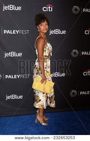 LOS ANGELES - MAR 22:  Antonia Thomas at the 2018 PaleyFest Los Angeles -