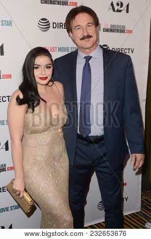 LOS ANGELES - FEB 22:  Ariel Winter, Glenn Workman at the