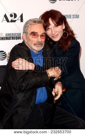 LOS ANGELES - FEB 22:  Burt Reynolds, Marilu Henner at the