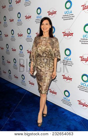 LOS ANGELES - FEB 22:  Perrey Reeves at the UCLA's 2018 Institute Of The Environment And Sustainability (IoES) Gala at the Private Estate on February 22, 2018 in Beverly Hills, CA