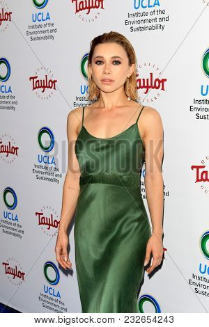LOS ANGELES - FEB 22:  Olesya Ruli at the UCLA's 2018 Institute Of The Environment And Sustainability (IoES) Gala at the Private Estate on February 22, 2018 in Beverly Hills, CA