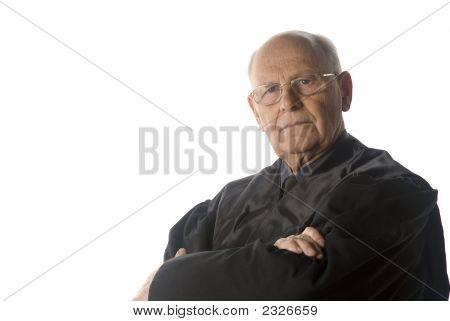 Male Judge Portrait